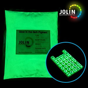 glow in the dark silicon