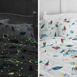 Glow In The Dark Bed Set - Day and Night Views