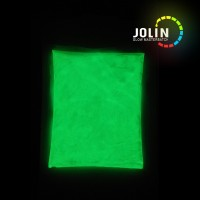 yellow green glow powder