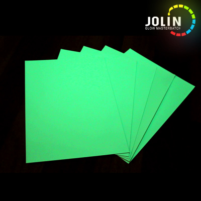 PET glow in the dark sticker film
