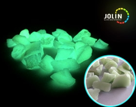 glow in the dark stone